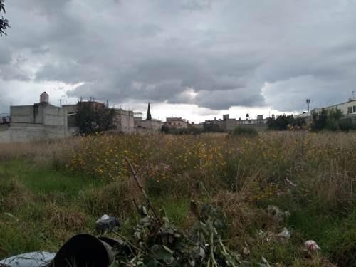 Terreno Semibardeado En Venta En La Colonia Santa Ana Tlapaltitlán En Toluca