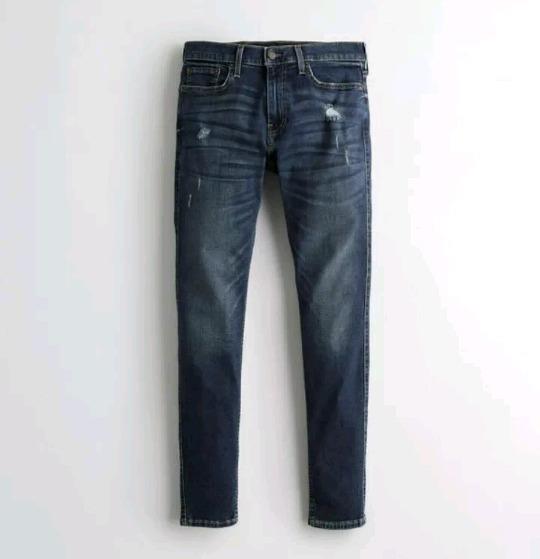 Pantalon Hollister Hombre Skinny Stretch 34x30 Nuevo!