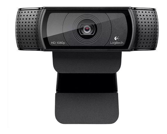 Webcam Logitech C920 Pro Fullhd 1080p Foto 15mp Sem Juros