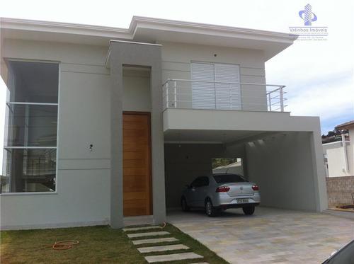 Casa Residencial À Venda, Condomínio Residencial Portal Do Jequitiba , Valinhos - Ca1397. - Ca1397