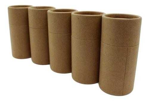 Envase tubo de cart/ón desodorante