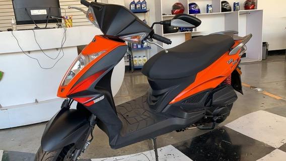 Motoneta Top Boy 125 Naranja Nueva Kymco