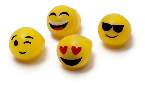 Imagen 1 de 3 de Anillo Luminoso Emoji X 6 - Cotillón Multicolor