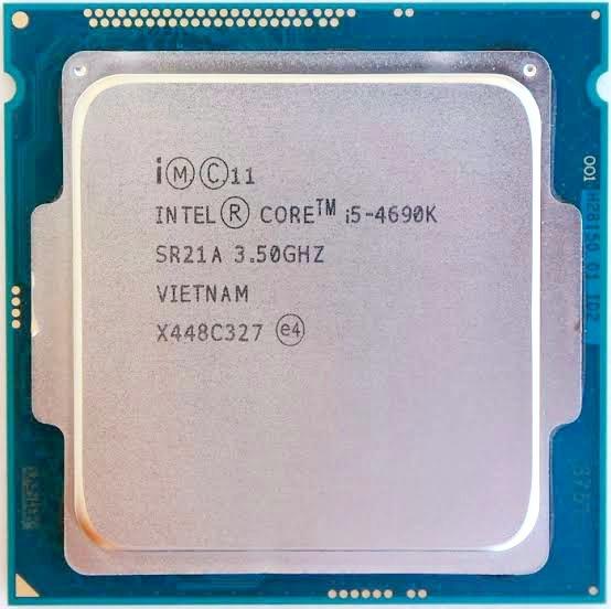 Processador I5 4690k 3.9 + Cooler Box