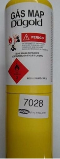 Refil Cilindro Gás Map 400g Bernzomatic Dugold Maçarico