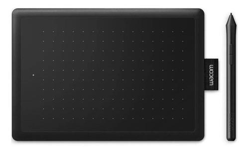 Imagen 1 de 4 de Tableta digitalizadora Wacom One by Wacom CTL-472 negra y roja