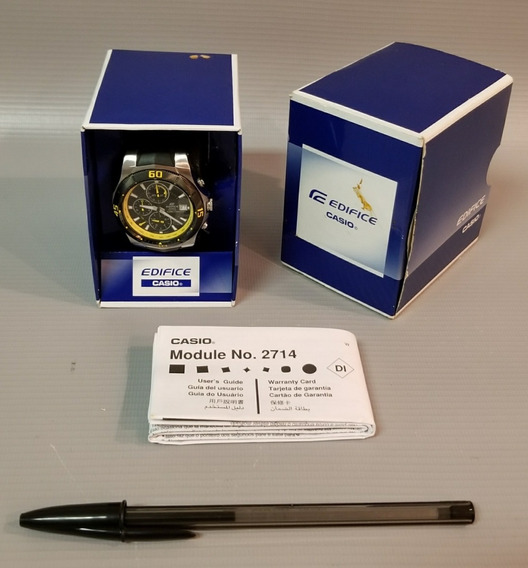 Relógio Casio Edifice Cronógrafo Ef-5141avd ¿ Estado De Novo