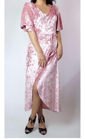 Vestido Envolvente Rosita Terciopelo Cruzado Sexy Posadas