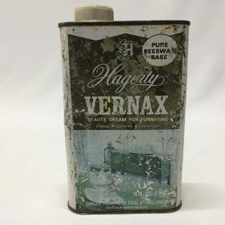 Lata Antigua Crema Hagerty Vernax Para Cuidado De Muebles