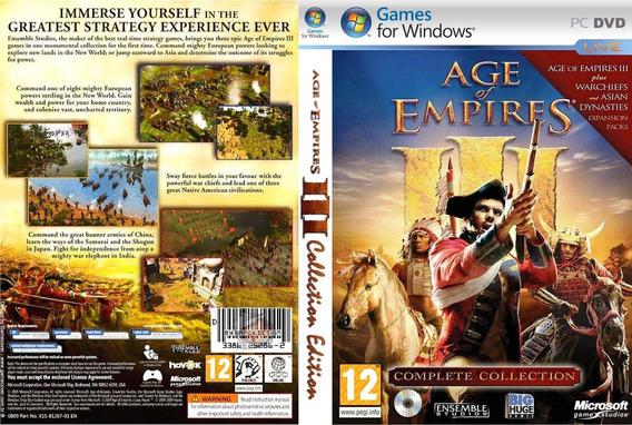 Age Of Empires Iii Coleção Completa