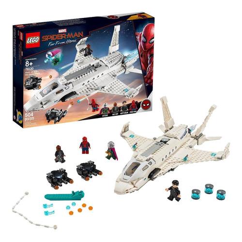 Set Lego Marvel Jet Stark Con Drone De Ataque De Spider-man