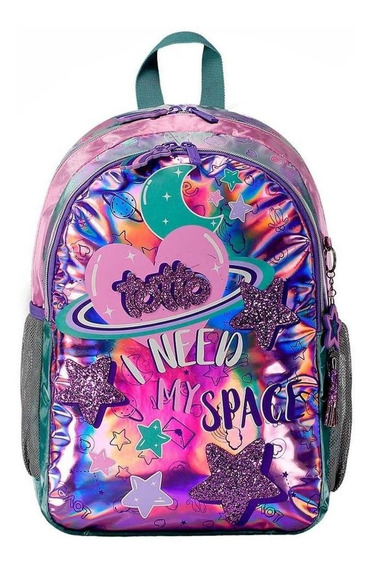 Morral Totto Pastel Galaxy Estampado
