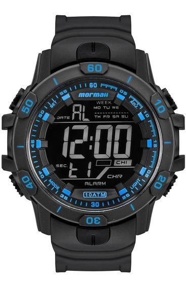 Relógio Mormaii Masculino Digital Preto - Mo3690ab/8a