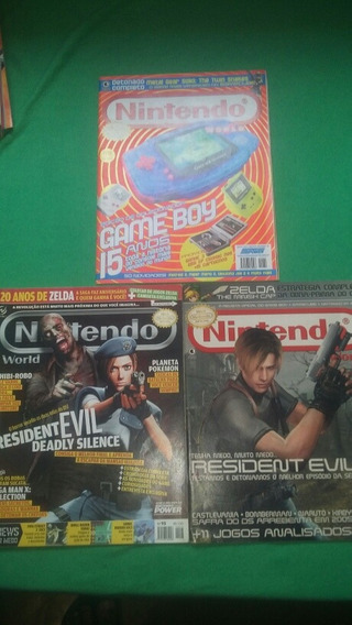 Revista Nintendo World 3 Unidades 35 Cada