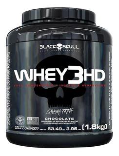 Whey 3hd 1.8kg - Black Skull - Isolado, Hidrolisado