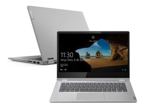 Notebook 2 Em 1 C340 I5-8265u 4gb 128gb Ssd Win10 14