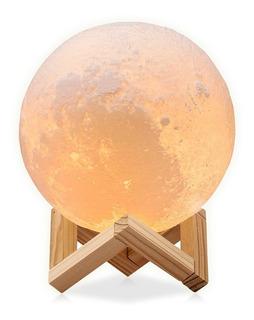 Redlemon Lámpara Luna Chica Impresión 3d Réplica Exacta 12cm