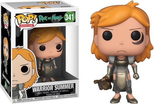 Funko Pop #341 - Warrior Summer - Rick And Morty - Original!