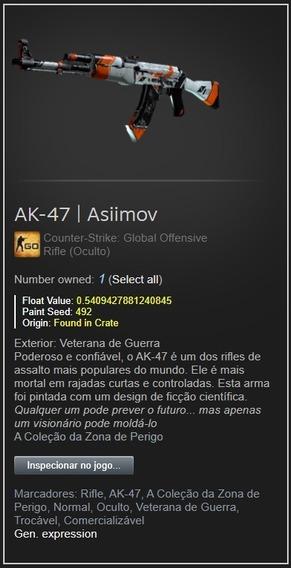 Skin Cs Go Ak-47 | Asiimov Bs