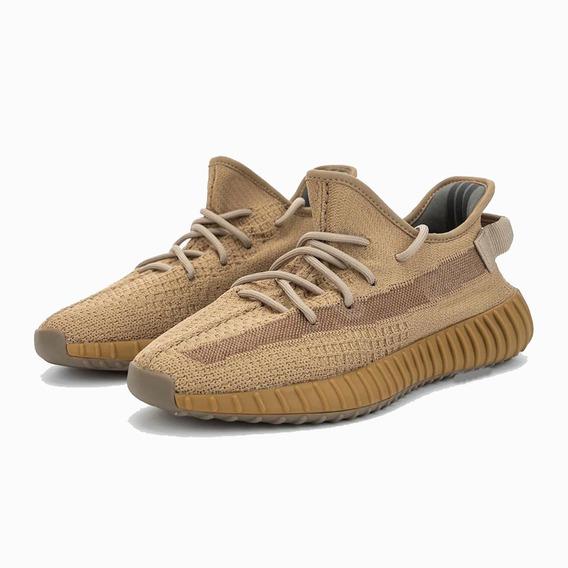Tenis adidas Yeezy 350 V2 Earth Marrom Boost Kanye Casual