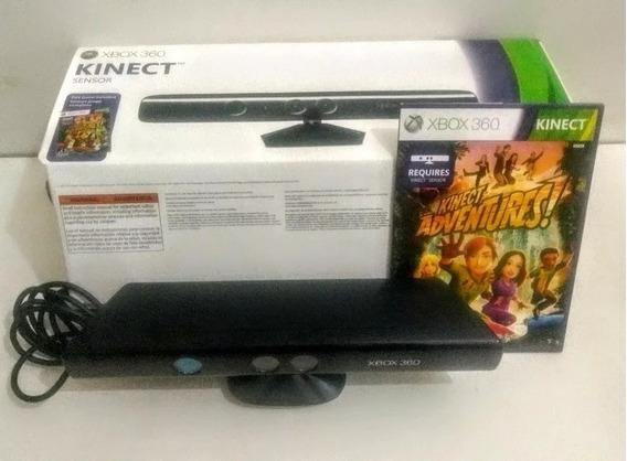 Sensor Kinect Xbox 360 Original Microsoft + Jogo Original