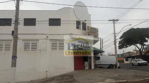 Salão Para Locação Com 3 Salas E 240 M² - Vila Menuzzo - Sumaré/sp - Sl0901