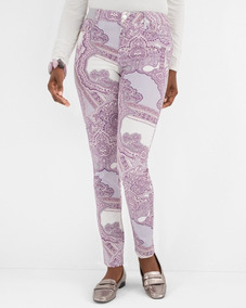 Tapestry-print Jeggings Chico´s