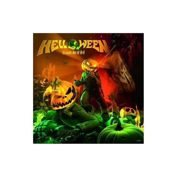 Helloween Straight Out Of Hell Usa Import Cd