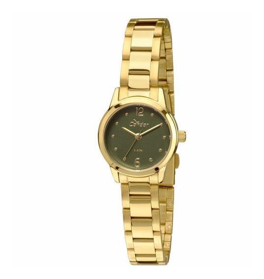Relógio Condor Feminino Mini Dourado - Co2035knd/4v Lindo