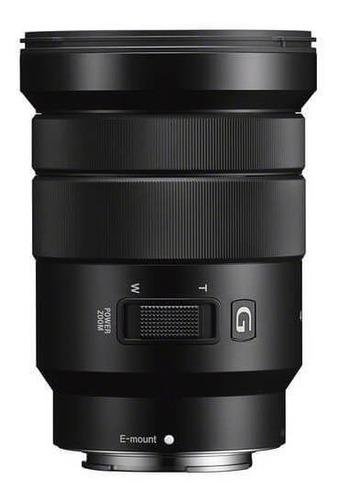 Imagem 1 de 4 de Lente Sony E Pz 18-105mm F/4 G Oss E-mount (selp18105g)