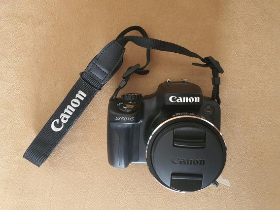 Canon Sx50 Hs Lente Zoom 24-1200 + Bolsa | Nova | Frete