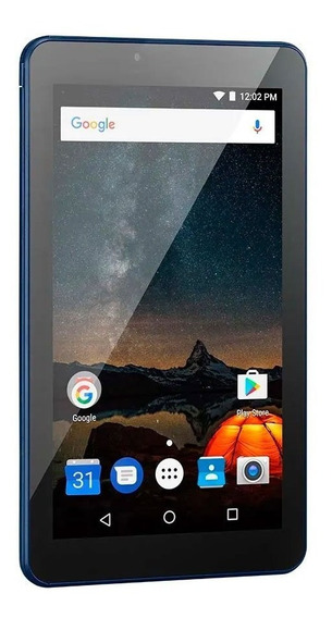 Tablet Multilaser M7s Plus Tela 7 16gb 1gb Azul Nb299