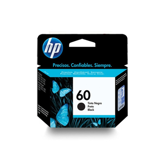 Cartucho Hp 60 Negro 100% Original Verificables En Pagina Hp