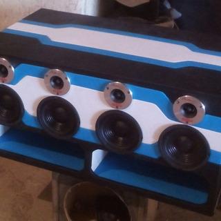 Cajon Turbo 12 Con Medios Y Balas