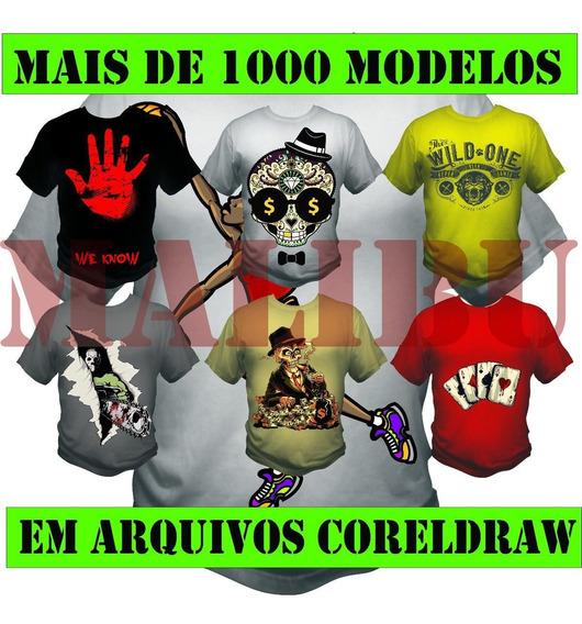 Estampas Para Camisas 1000 Modelos Em Cdr