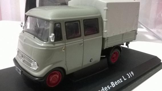 Miniatura 1/43 Schuco Caminhão Mercedes Benz L 319