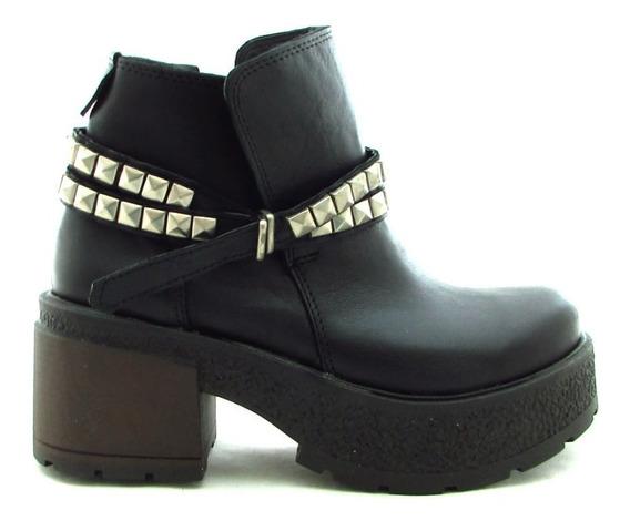 Botas Mujer Borcegos Zapatos Cuero Moda 2019 Art Mg-50