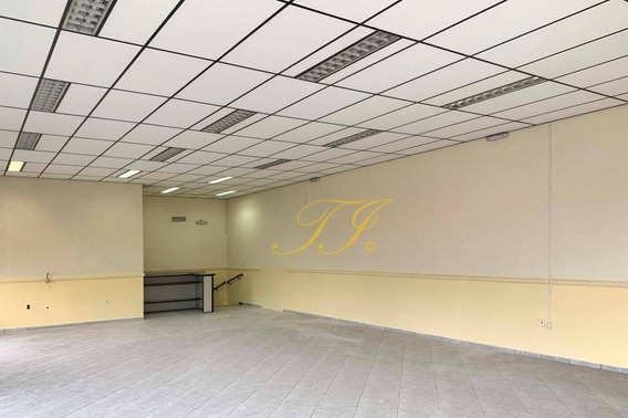 Salão Para Alugar, 140 M² Por R$ 3.000,00/mês - Vila Galvão - Guarulhos/sp - Sl0014