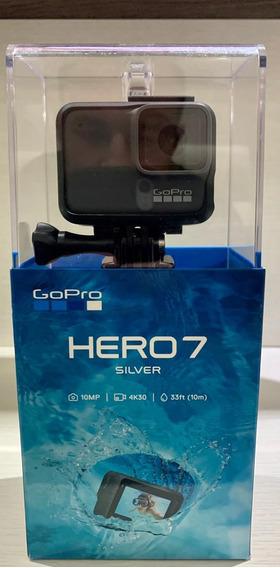 Gopro Hero 7 Silver Nova Na Caixa