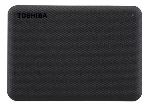 Imagen 1 de 4 de Disco duro externo Toshiba Canvio Advance HDTCA20X 2TB negro