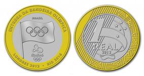Moeda Entrega Da Bandeira - Olimpíadas Do Rio De 2016