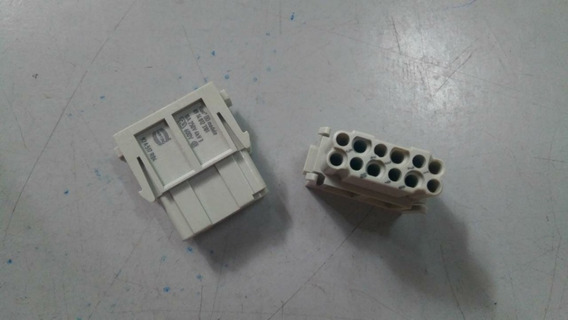 Módulo Han Dd 12 Terminais Fêmea 34,2 X 14,6 X 34mm Harting