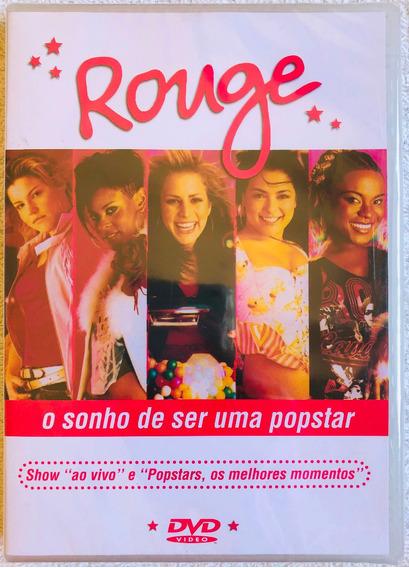 Dvd Rouge O Sonho De Ser Uma Popstar Ao Vivo Lacrado Raridad
