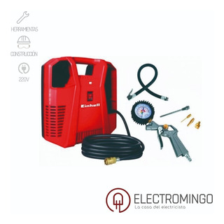 Compresor De Aire Portatil Einhell Inflador Auto +kit