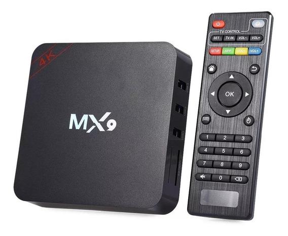 Tv Box Ultra Hd 4k 2 Controles Wifi Netflix Android 7.1.2