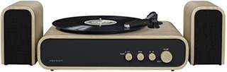 Crosley Cr6035a Na Gig 2 Speed Turntable With Speakers