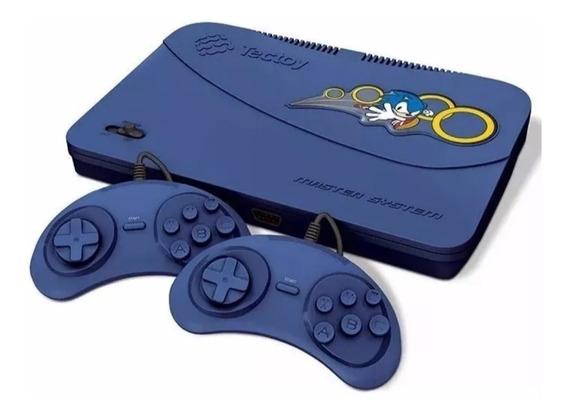 Video Game Master Sistem 132 Jogos Na Memoria 2 Controles