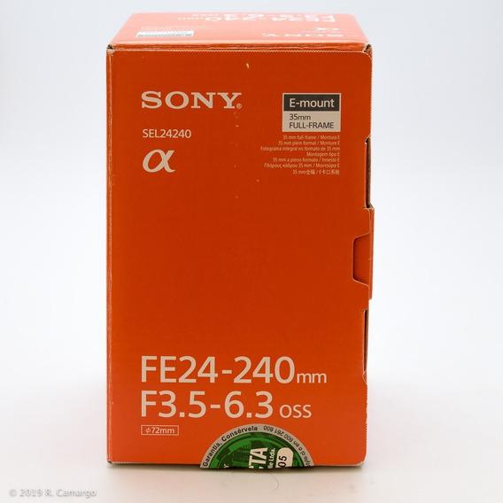 Lente Sony Fe 24-240mm F/3.5-6.3 Oss Sel24240