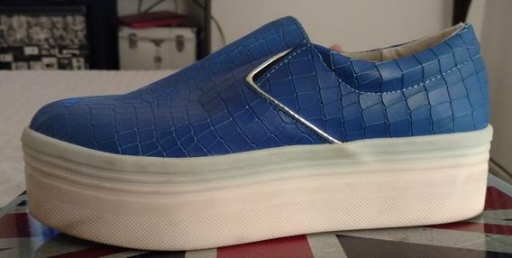 Zapatillas Zapatos.nazaria Azul Francia Talle 39 , Oferta