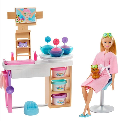 Barbie Set Spa De Lujo De Barbie 100%original Y Nuevo Mattel